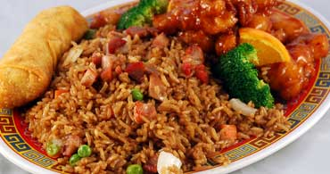 Panda House Young Chow Fried Rice